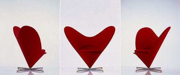 Sillón corazón para regalar en San Valentín