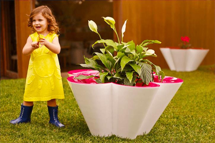 mobiliario agatha maceta jardin