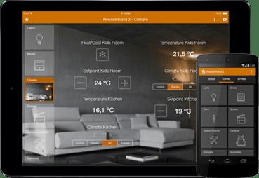 App para controlar la casa