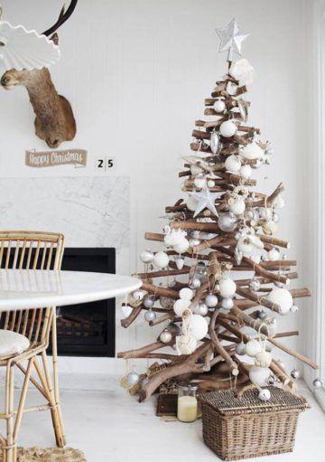 Diseña tu Propio Árbol de Navidad Reciclado