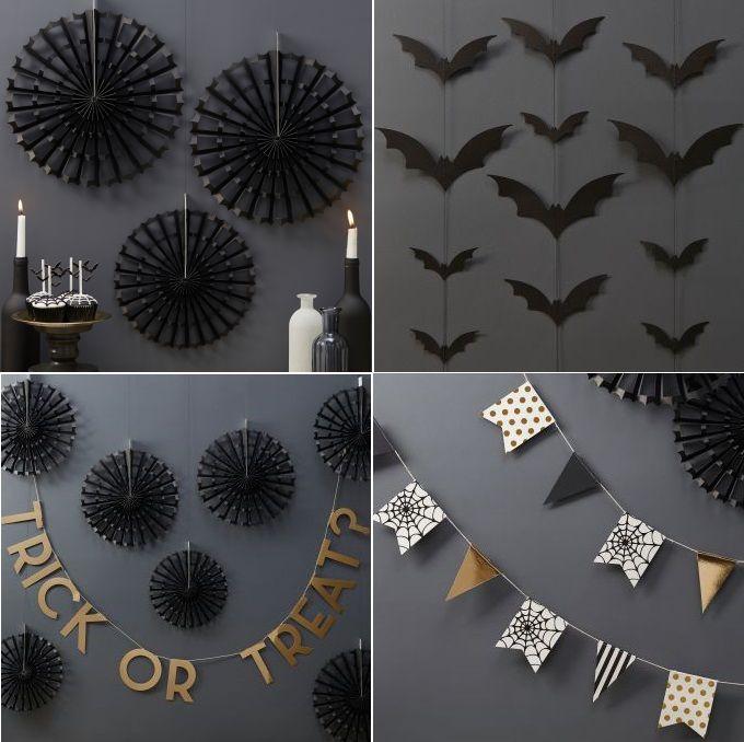 Guirnaldas para decorar la casa en halloween