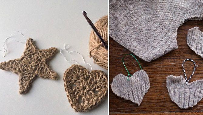 Decoración para navidad de lana