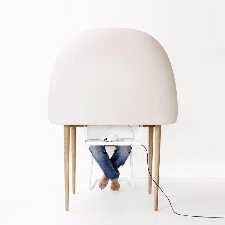 Escritorio de trabajo con un diseño moderno