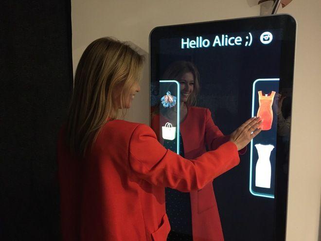 Espejo Inteligente predictivo para elegir ropa