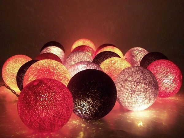 Guirnalda lumínica de bolas