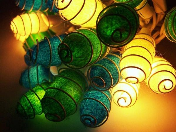 Guirnalda Original Capullos de Seda