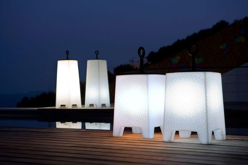Iluminación para espacios de exterior en el hogar