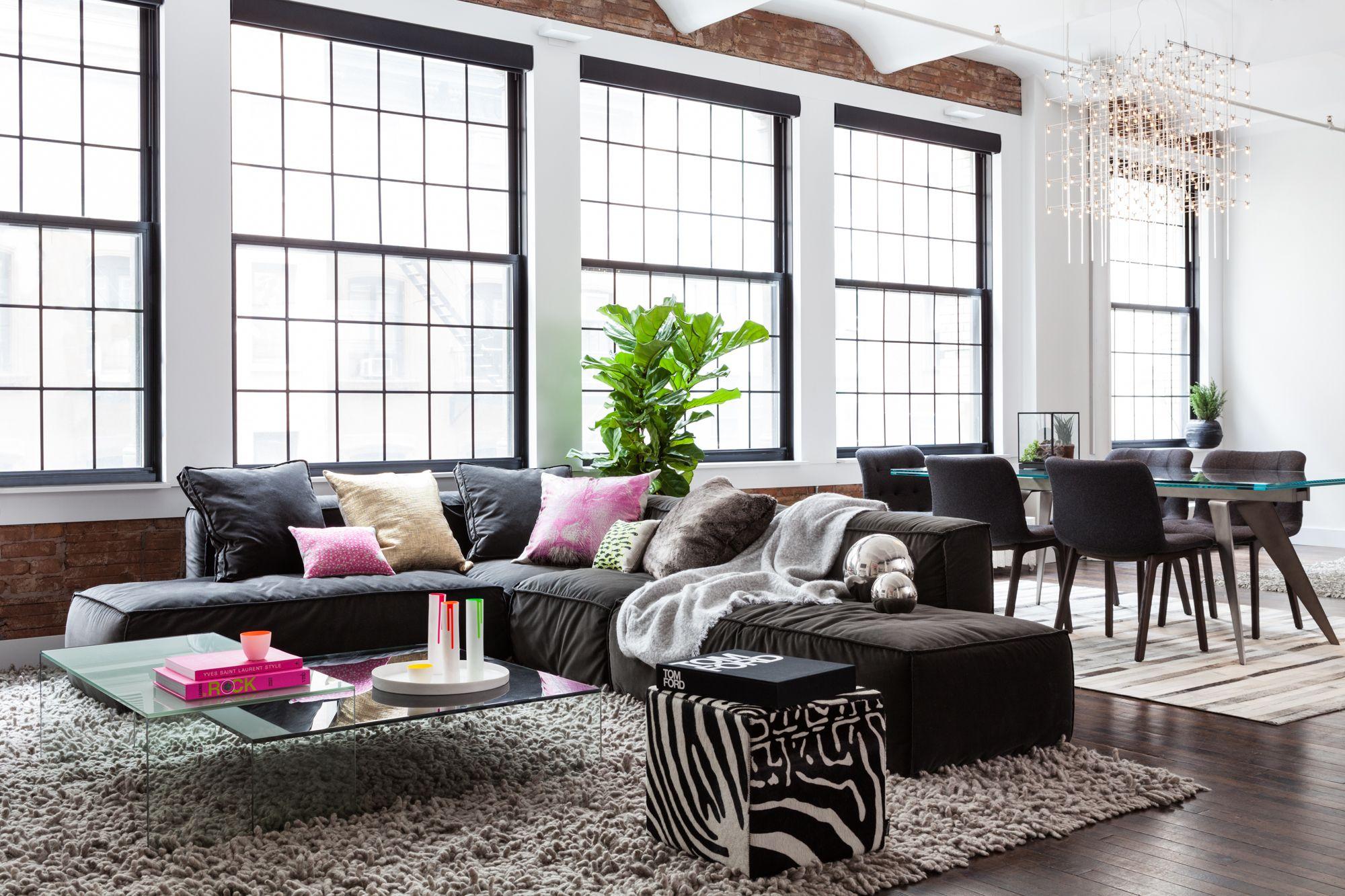 Loft estilo industrial en Nueva York