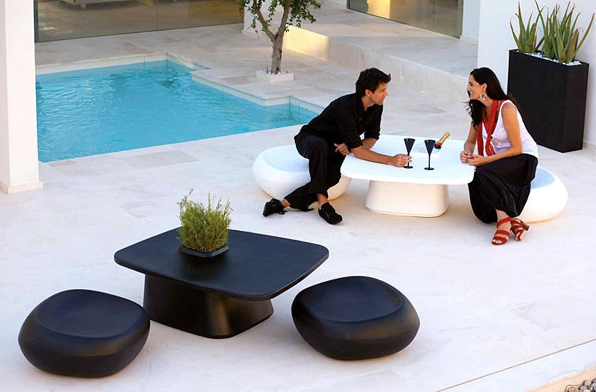 Mesa y Silla para espacios de exterior