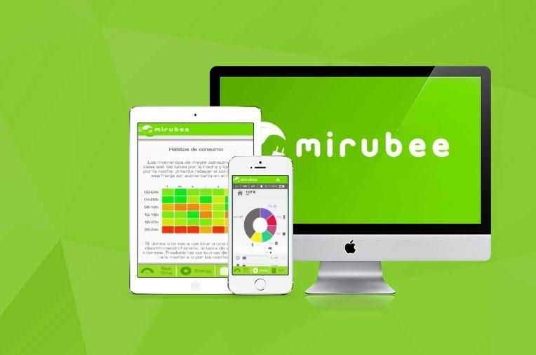 mirubee app domótica ahorro energía