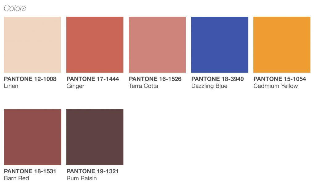 Pantone color New Native