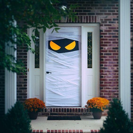 Decoración puertas de Halloween