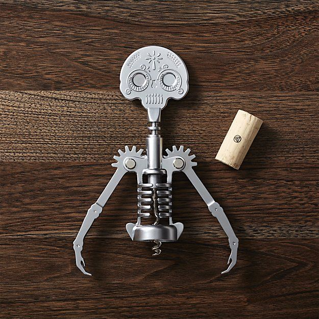 sacarcorchos esqueleto haloween