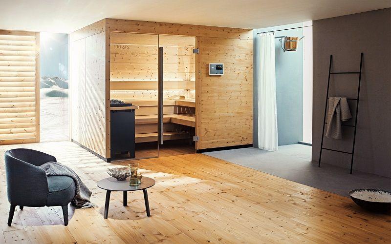 Sauna de lujo para disfrutar en el hogar