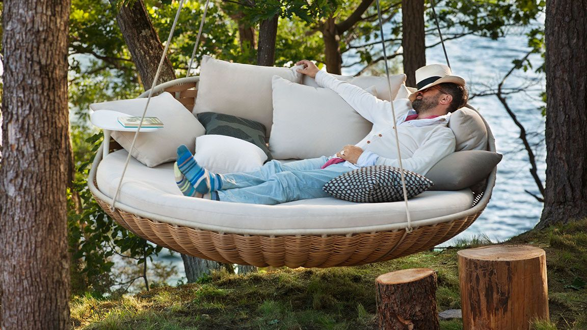 sofa colgante relax