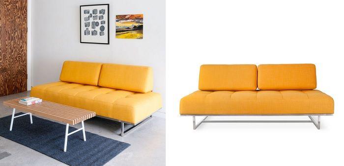 Un Sofá Amarillo para Espacios con Mucha Personalidad