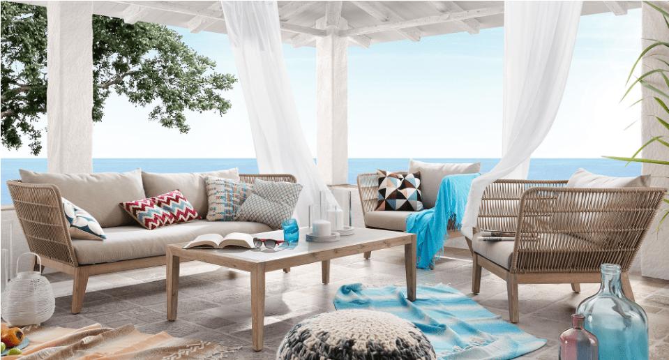 Sofás de jardín de diseño