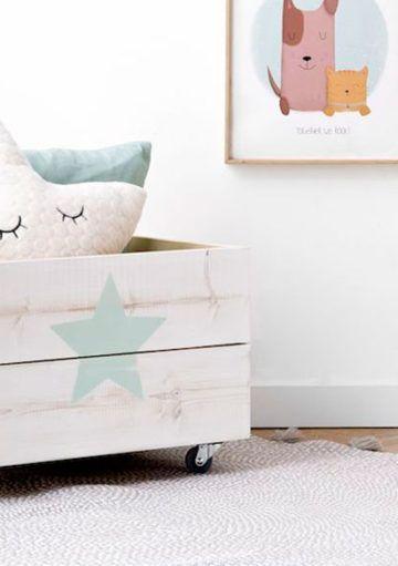 Productos de decoración indispensables en toda habitación infantil